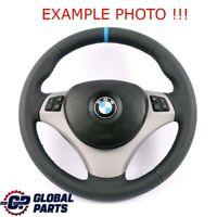 BMW 1 3 Il E81 E82 E87 E90 E91 E92 Neuf Cuir Comme M-SPORT Volant Tris Couleurs