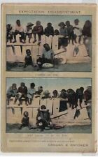 VINTAGE POSTCARD  F.W.NIVEN ADVERTISING  CROOKS AND BROOKER ADELAIDE S.AUS1900s