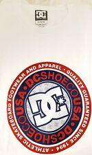 Dc Shoes Apparel Co Skateboard Footwear Rotunda T-Shirt Shirt Men's Xl White