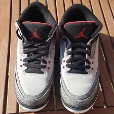 "Nike Air Jordan 3 Retro ""stealth"" 2011 VGC UK Size 6, EUR 40, US 7."