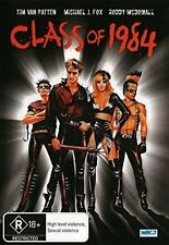CLASS OF 1984 (1982 Michael J Fox) DVD - UK Region 2 Compatible - sealed