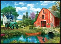 The Red Barn - Chart Counted Cross Stitch Pattern Needlework Xstitch craft DIY