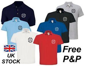 Triumph Stag 50th Anniversary Commemorative Embroidered Polo Shirt Free P&P