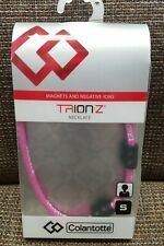 New Genuine Trion:Z Magnetic Ionic Necklace by Colantotte  - pink - size small
