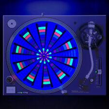 "Ferris Wheel Carnival - DJ Turntable Slipmat 12"" GLOWS under BLACKLIGHT Slip Mat"