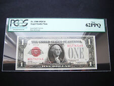 WOW RARE $1 1928 FR 1500 LEGAL TENDER NOTE CHOICE GEM UNC BU NOTE***PCGS 62***