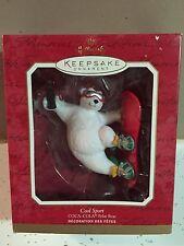 Hallmark Coca Cola Polar Bear Cool Sport Ornament In Original Box