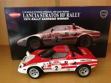 1/18 KYOSHO LANCIA STRATOS HF RALLY''74 RALLY SANREMO WINNER