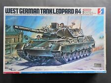 Vintage and rare 1/35 Seminar Plastics remote controlled German Leopard A4 Tank