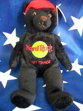 HRC Hard Rock Cafe Lake Tahoe Charlie Bear Beara Bär Teddy Made by Herrington