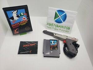 Duck Hunt  (Nintendo, NES, 1985) 5 Screw + Manual & Light Gun