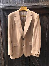 MENS Wareen Sewell Kings Western CAMEL HAIR Brown Tan Jacket Sports Coat Blazer