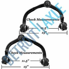 """2 Front Upper Control Arm + Ball Joint - Adjustable Suspension - 15"""" Measure"""