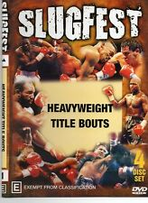 SLUGFEST SERIES VOL.1 HEAVYWEIGHT TITLE BOUTS - 4 DISC SET BOXING DVD