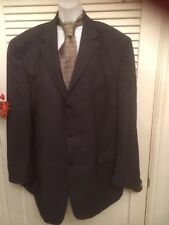 MEN'S DKNY Sport Coat Jacket Size 46R GRAY