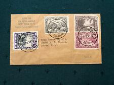 Rjw: Belgian Congo uNique Cover To Dover, New Jersey, Us-Pm-Congo 11-15-1938