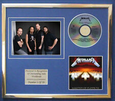 METALLICA MASTER OF PUPPETTS CD ALBUM DISPLAY FREE P+P!!