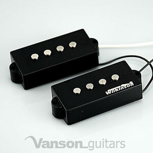 NEW Wilkinson WPB AlNiCo V Bass Pickups for 'PB' type guitars, Precision