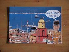 Carte Postale Saint Tropez  ( louis de funes )