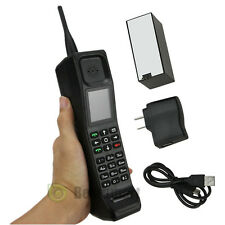 Black Brand New Classic Old Vintage Brick Cell Phone GSM 900/1800/1900MHz USA