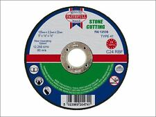 Faithfull - Cut Off Disc for Stone 125 x 3.2 x 22mm