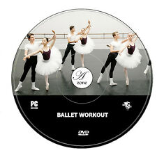 BALLET WORKOUT FITNESS EXCERCISE GET FIT DANCE FLEXIBILITY WEIGHT FAT LOSS DVD
