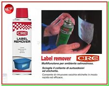 Scolla Etichette Spray CRC 250ml Sciogli Colle Stacca Togli Leva Adesivi Label