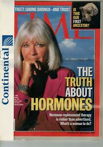 TIME MAGAZINE- 22 LUGLIO 2002 - THE TRUTH ABOUT HORMONES - LINGUA INGLESE