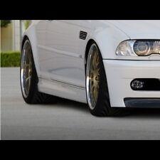 BMW Serie 3 E46 Coupe Cabrio Coppia Minigonne Laterali Tuning M3 look ABS MAXTON