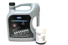 FORD Formula F 5w-30 olio motore 14e9ec 5 LITRI + FILTRO OLIO ORIGINALE FORD 1119421