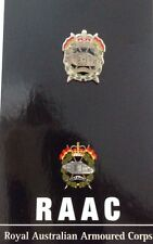 RAAC - Royal Australian Armoured Corps Lapel Pin