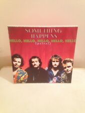 "SOMETHING HAPPENS Hello, Hello, Hello, Hello, Hello 12"" VINYL UK Virgin 1990 3"
