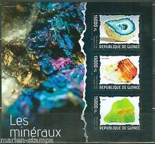 Guinea 2014 Minerals Sheet Mint Nh