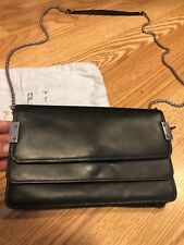 Stuart Weitzman Black Small Evening Bag / Wallet on a Chain
