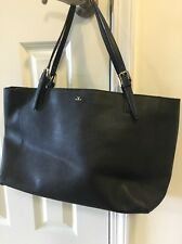 Tory Burch York Buckle Tote  Black Saffiano Leather $245 100% Authentic
