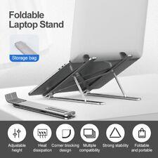 Folding Laptop Stand Computer Portable Adjustable Heighten Bracket for PC Laptop