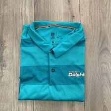 New listing Miami Dolphins NFL Nike On Field Apparel Mens Coaches Golf Polo Sz XL