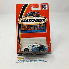Chevrolet Camaro z-28 Police #30 * White * Matchbox * JD12