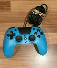 PLAYSTATION 4 & PC GIOTECK VX4 PREMIUM WIRED CONTROLLER GAME PAD PS4 BLUE