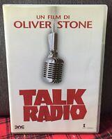 Talk Radio DVD Oliver Stone Ex Noleggio Come Foto N