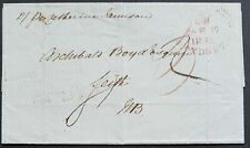 NSW Pre stamp ship letter Sydney Ma10 1842 to Leith, Scotland. Sep 14 1842