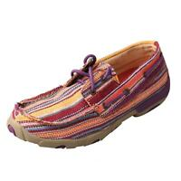 Details about  /Twisted X Casual Shoes Womens Loafer Stripe Cellstretch Brn WXC0005
