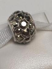 Light Gold Crystal Bead Nwot 2102 Chamilia Sterling Silver 925 Splendor Metallic