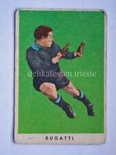 VECCHIA FIGURINA RASA calcio football 1961 BUGATTI Ottavio INTER portiere *