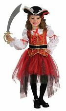 PRINCESS OF THE SEAS PIRATE CHILD HALLOWEEN COSTUME GIRL'S SIZE MEDIUM 8-10