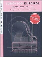 Ludovico Einaudi Graded Pieces for Piano Preparatory Grades 1 2 Music Book/Audio