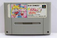 Sailor Moon S Kurukkururin SFC Nintendo Super Famicom SNES Japan Import I6681