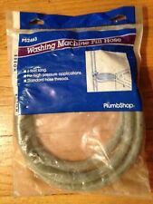 """PlumbShop"" Six-Foot Long Ps2463 Standard Hose-Thread Washing Machine Fill Hose"