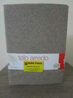 Telo Arredo Copritutto Multiuso Disegno Maculato 170x260 Marrone Made in Italy