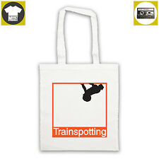 Like TRAINSPOTTING classic 90'S movie tote bag shopper Choose life. British